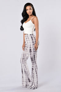 Be Bold Pants - Grey Angle 6