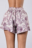 Going Paisley Shorts - Farsi Grey