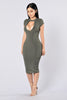 Honestly Dress - Olive