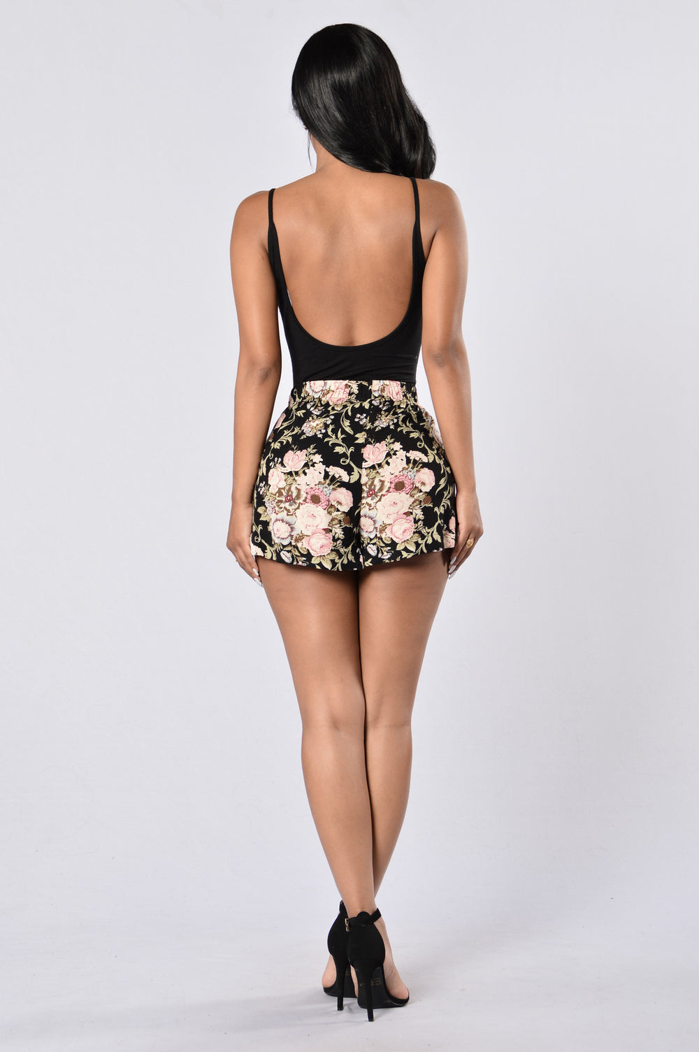 Endless Vacation Shorts - Vintage Floral