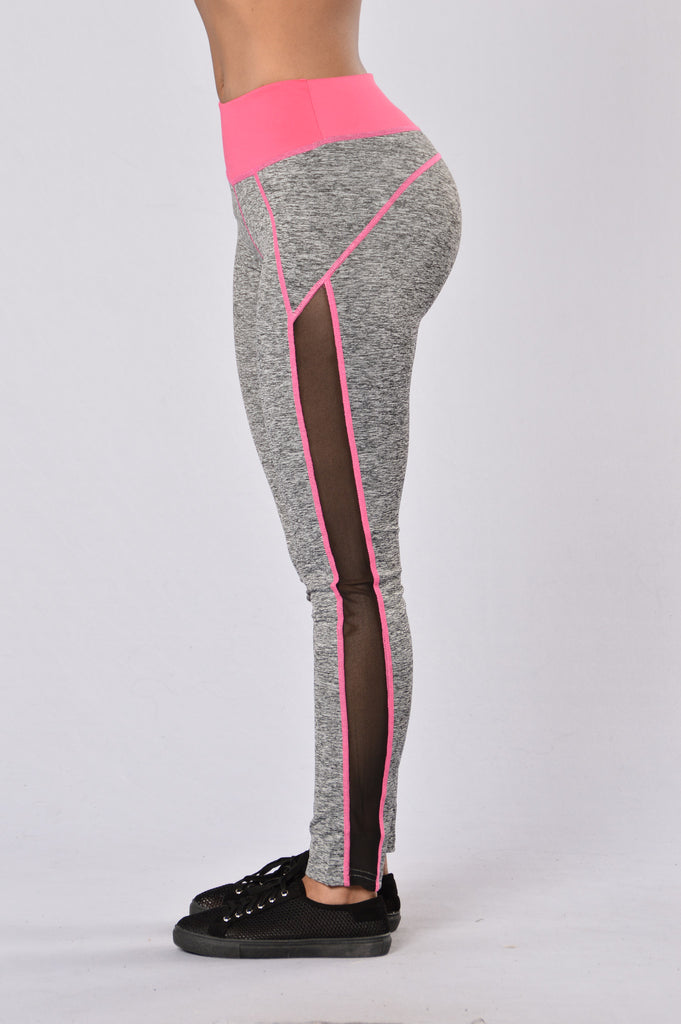 Go For A Run Pants - Pink