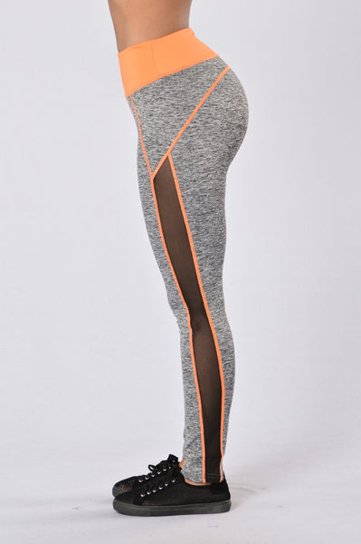 Go For A Run Pants - Orange