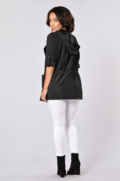 Cher Jacket - Black