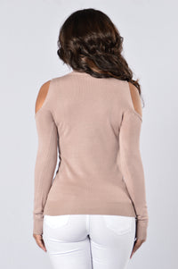 Davey Sweater - Dusty Pink