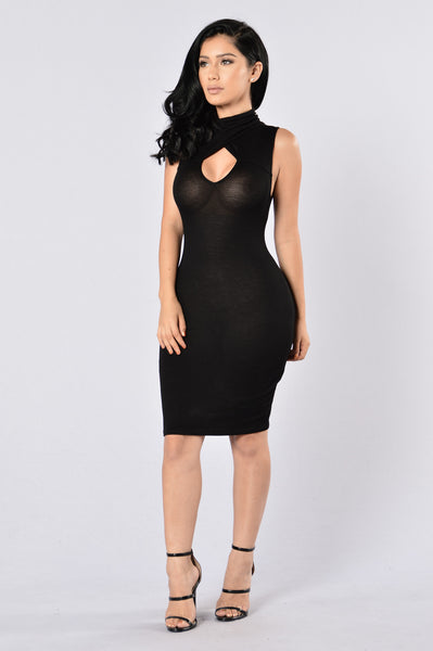 Catalyst Dress - Black