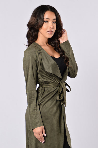 Misty Nights Jacket - Olive