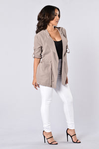 Cher Jacket - Taupe