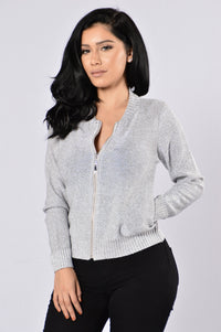 Shine Bright Jacket - Silver Angle 1