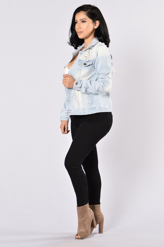 Iconic Denim Jacket Light
