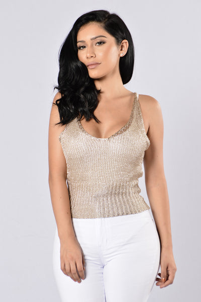 Cabo Cutie Top - Gold