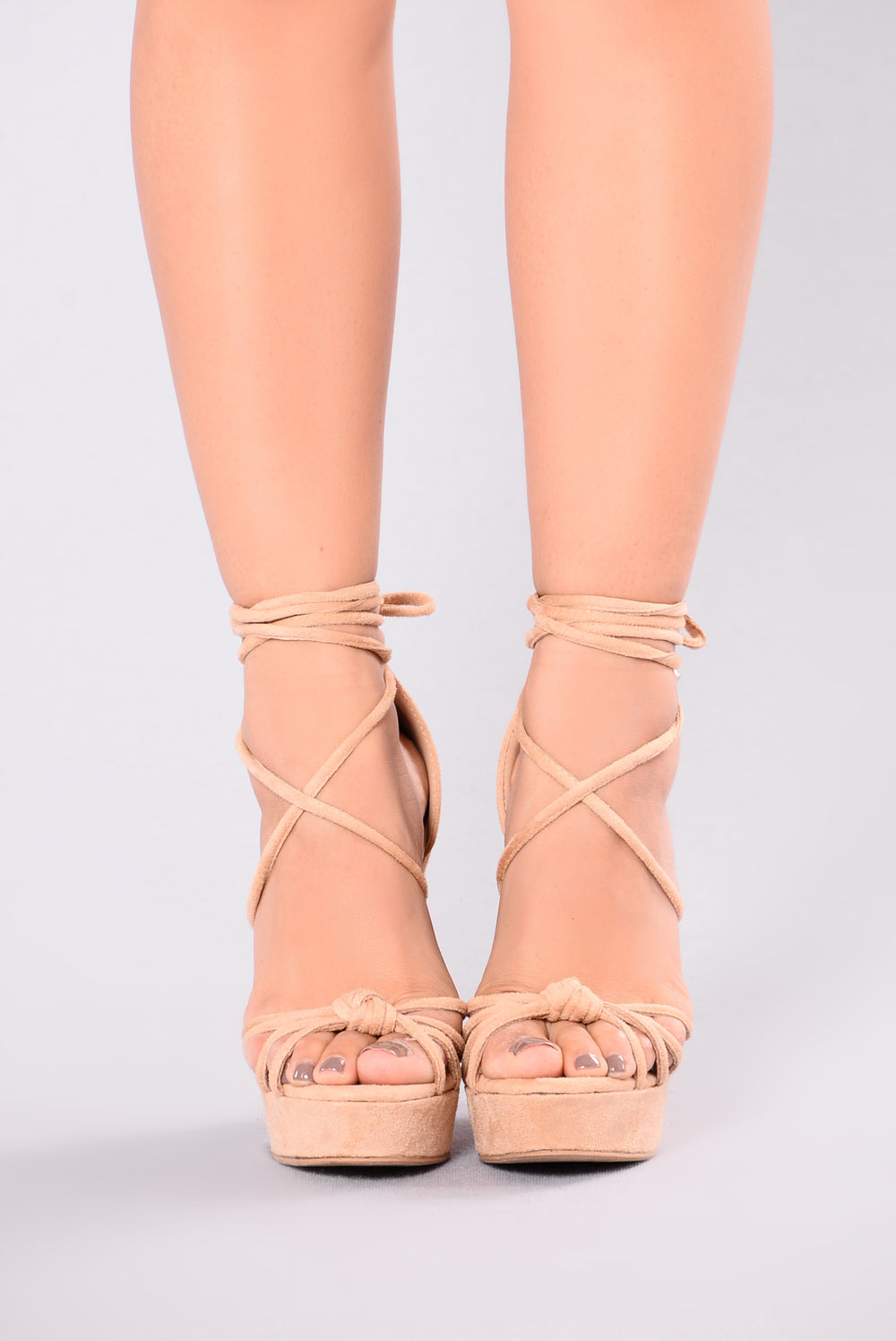 Valora Wedge - Nude