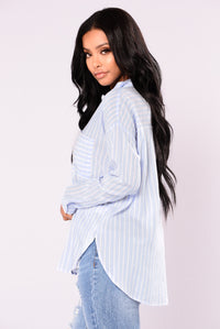 Kamry Button Down Shirt - Chambray