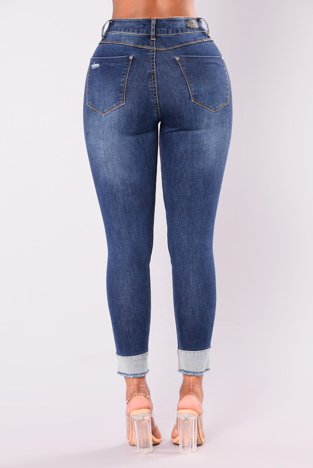 Izola Ankle Jeans - Dark Wash