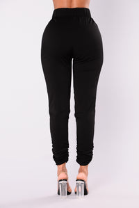 Shauna Jogger Pants - Black