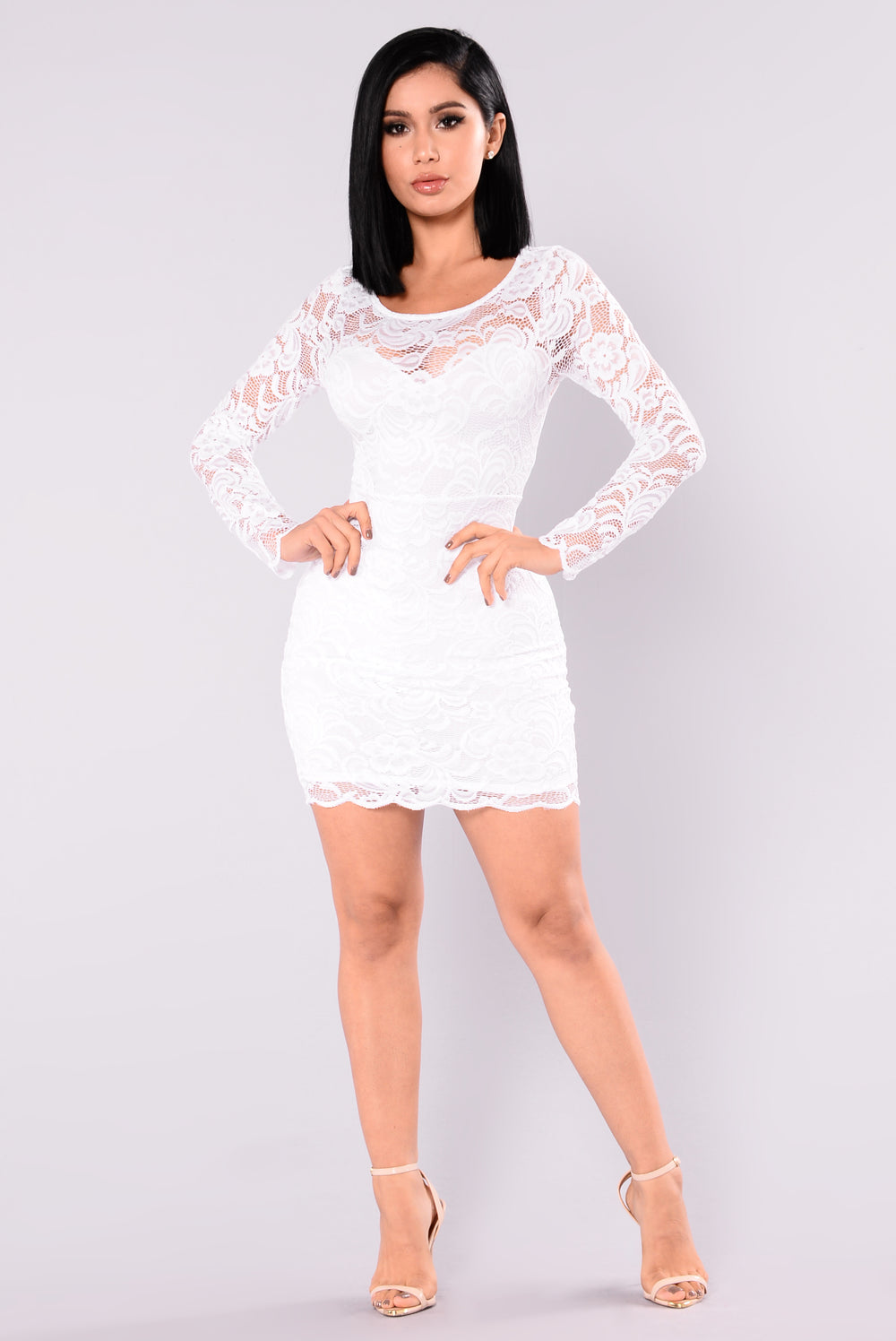 Marnie Lace Dress - White