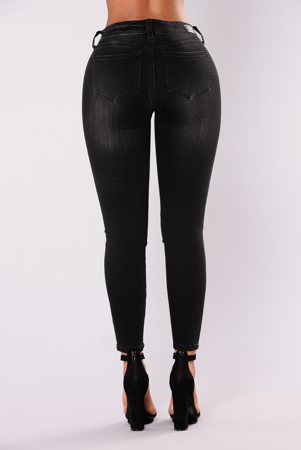 What's Your Curfew Skinny Jeans - Black