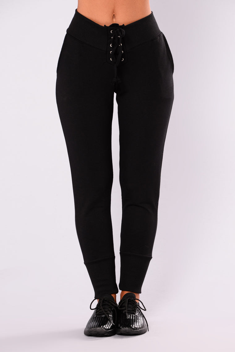 Ace Of Threads Active Jogger - Black