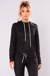 Modern Culture Active Hoodie - Black