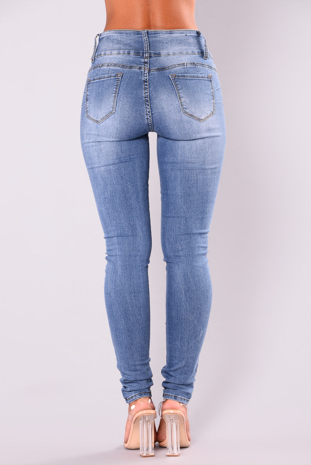 Rockin Every Where Booty Sculpting Jeans - Medium Blue Wash