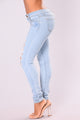 Wildfire Skinny Jeans - Light Blue Wash