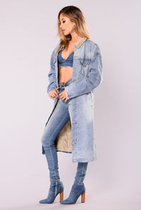 Without Limits Denim Jacket - Medium Wash