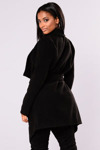 Manhattan City Coat - Black