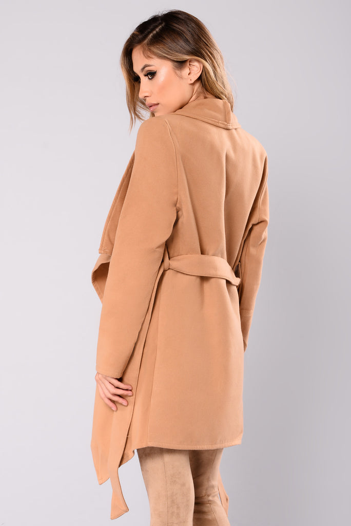 Manhattan Coat - Khaki