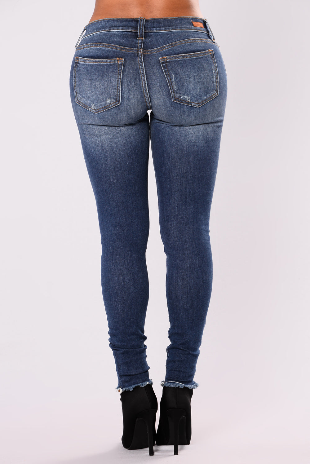 High Voltage Skinny Jeans - Dark Denim