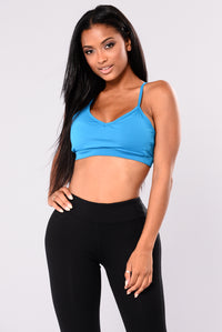 Kori Active Sports Bra - Turquoise