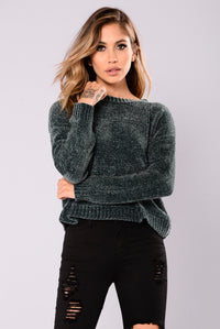 Zaccai Knit Sweater - Forest Green