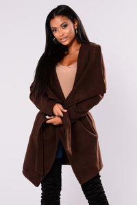 Manhattan City Coat - Coffee