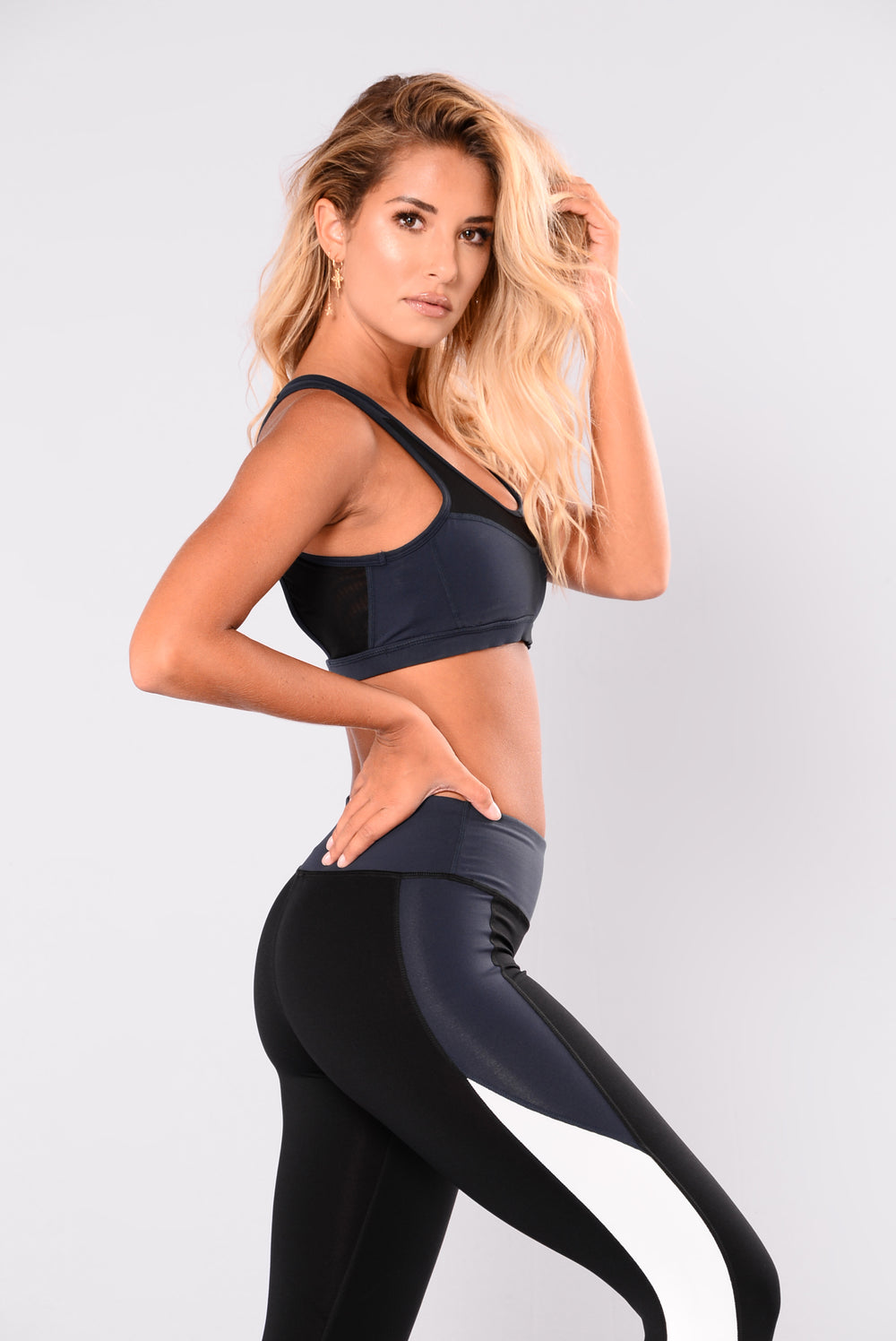 Stay And Play Mesh Active Top - Navy