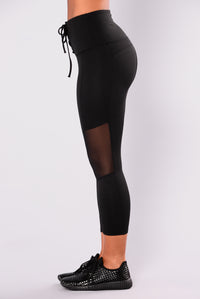 Luz Active Leggings - Black