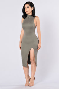 Too Good For You Dress - Olive