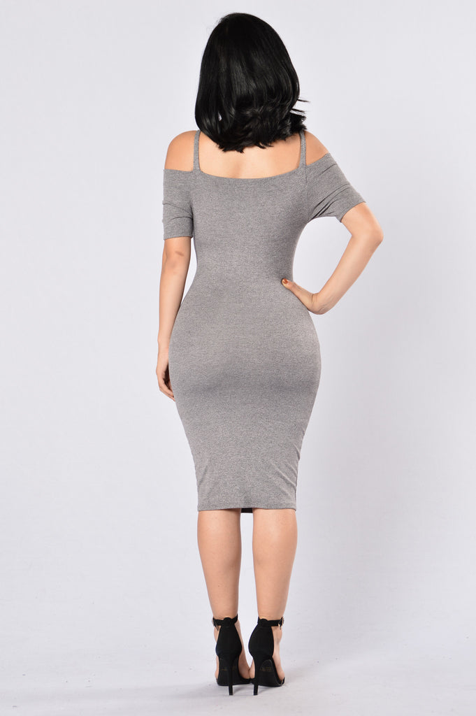 Play All Day Dress - Grey