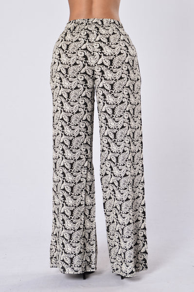 Island Girl Pants - Pasha Black