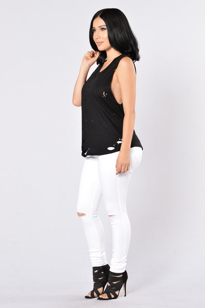 Get Ripped Tank Top - Black