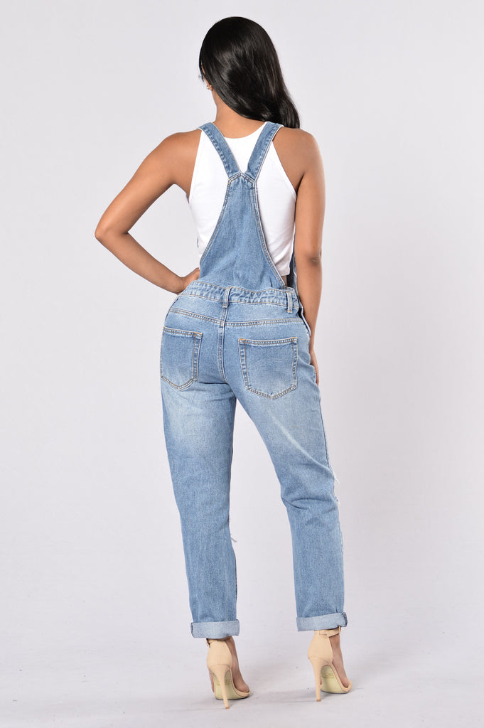 So Over You Overall - Medium Wash