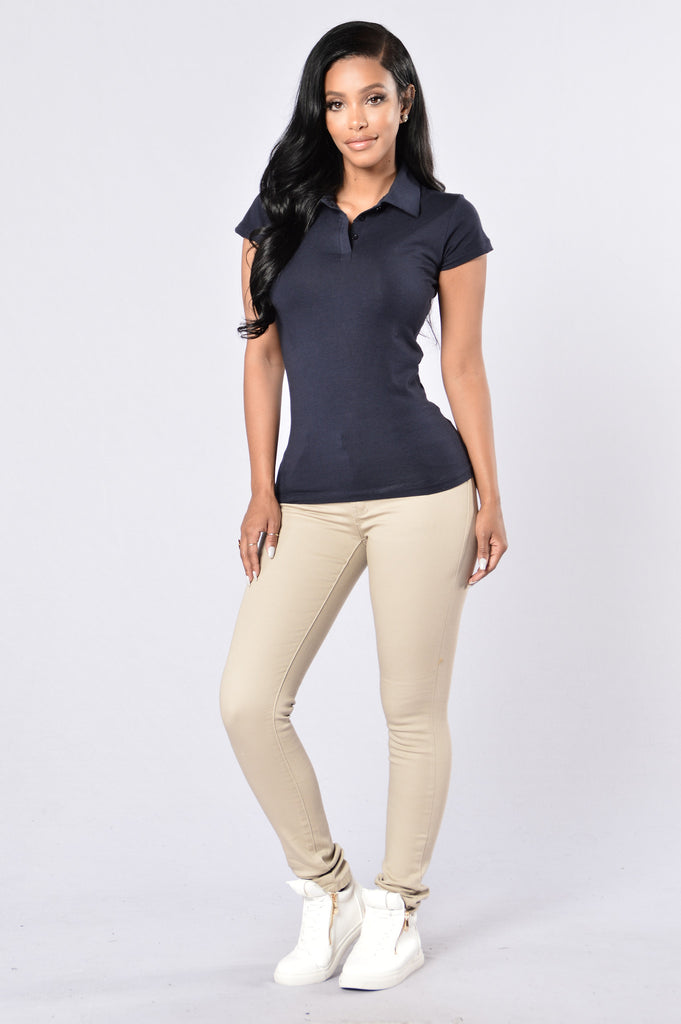 Basic Polo - Navy