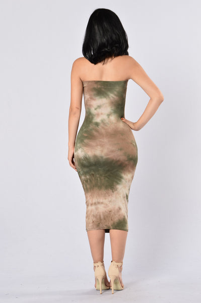 Bright Eyed Dress - Olive
