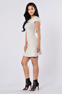 Kala Dress - Heather Grey