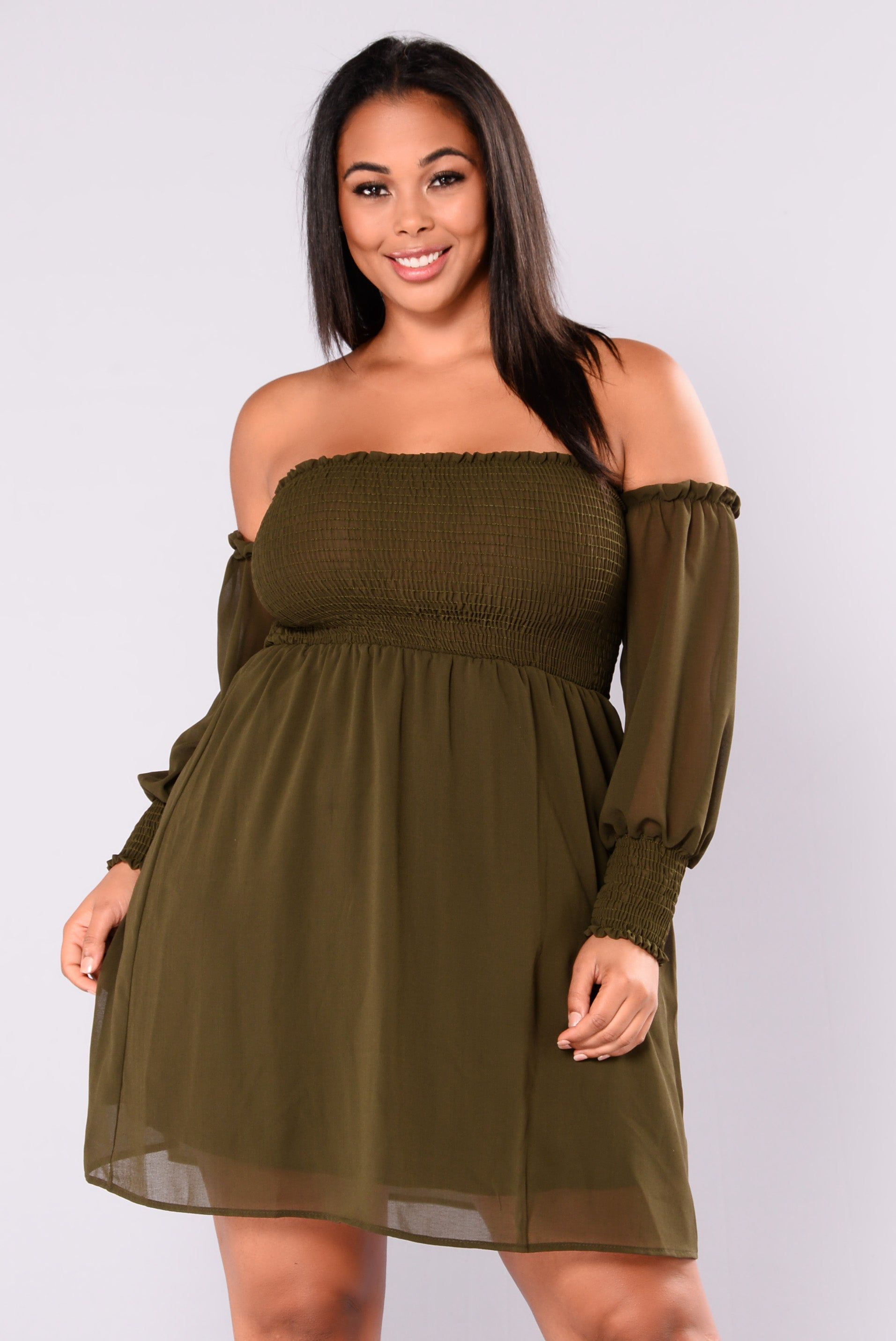 5f5a612f663 Cocktail Hour Dress - Olive