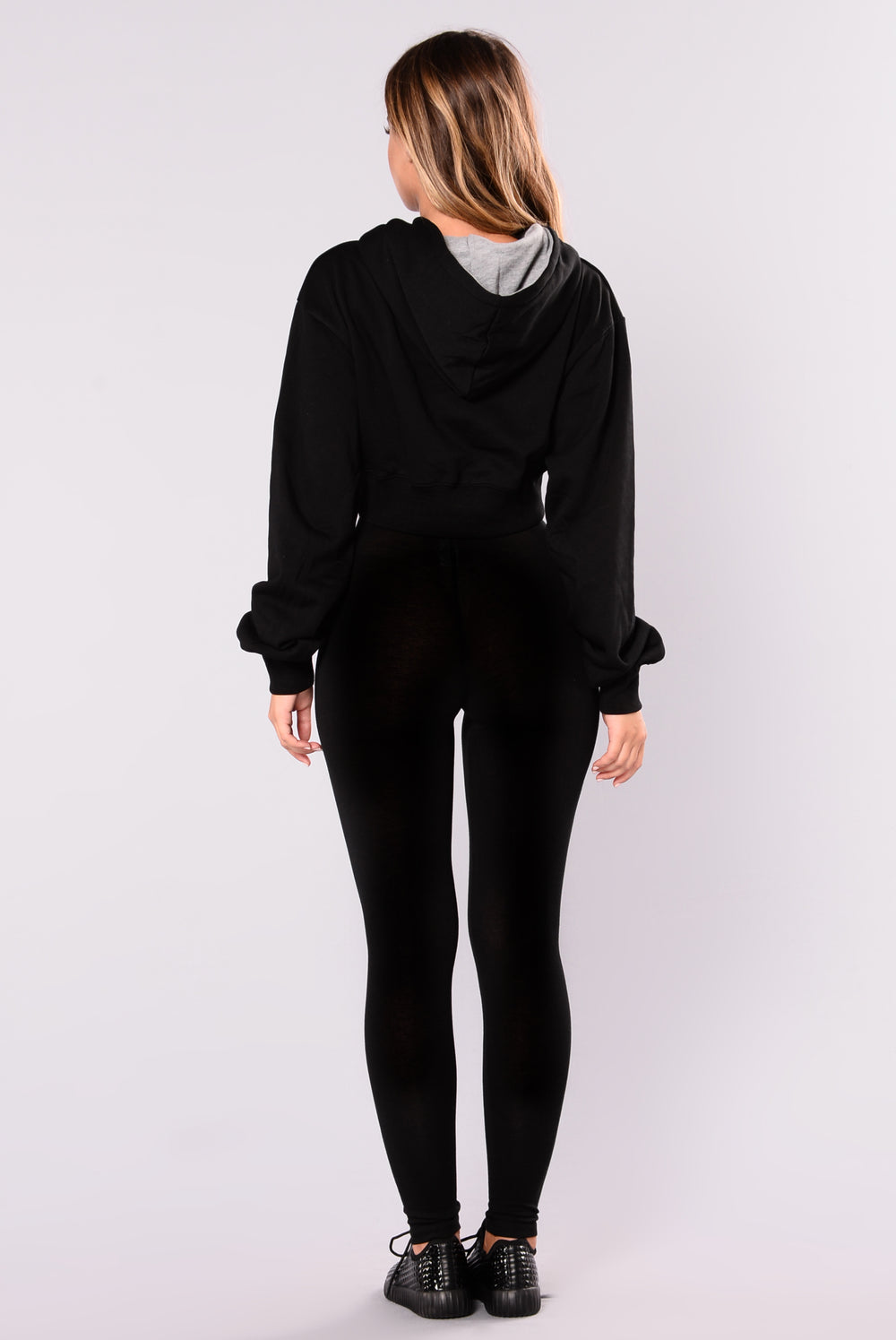 Shalene Crop Sweater - Black