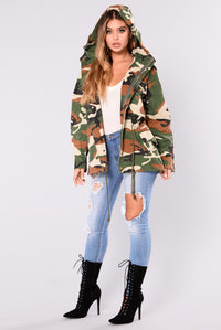 The Perfect Cover Up Camo Jacket - Camo