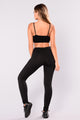 Sylvia Active Leggings - Black