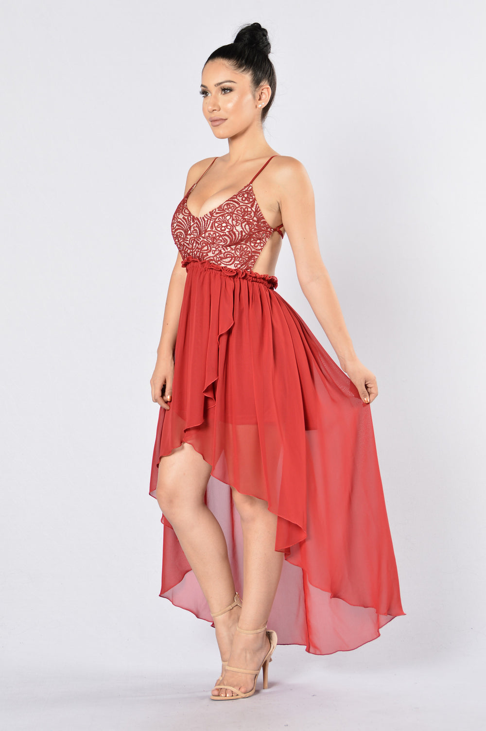 Dame Dress - Red