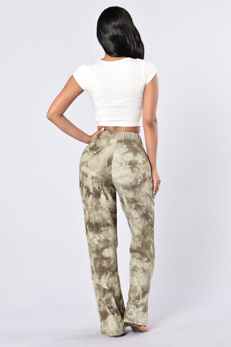 Kickin' It Pants - Army Green