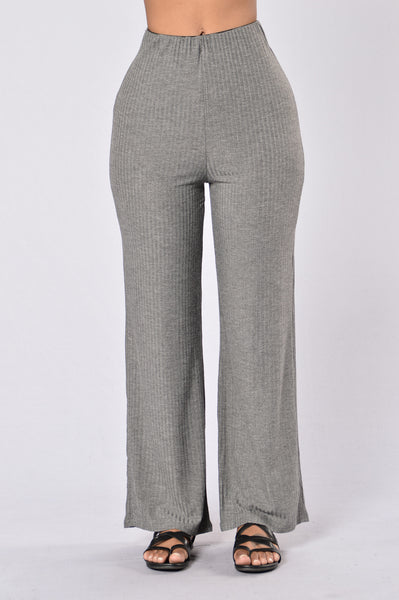 Kickin' It Old School Pants - Charcoal