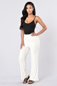 Kickin' It Old School Pants - White