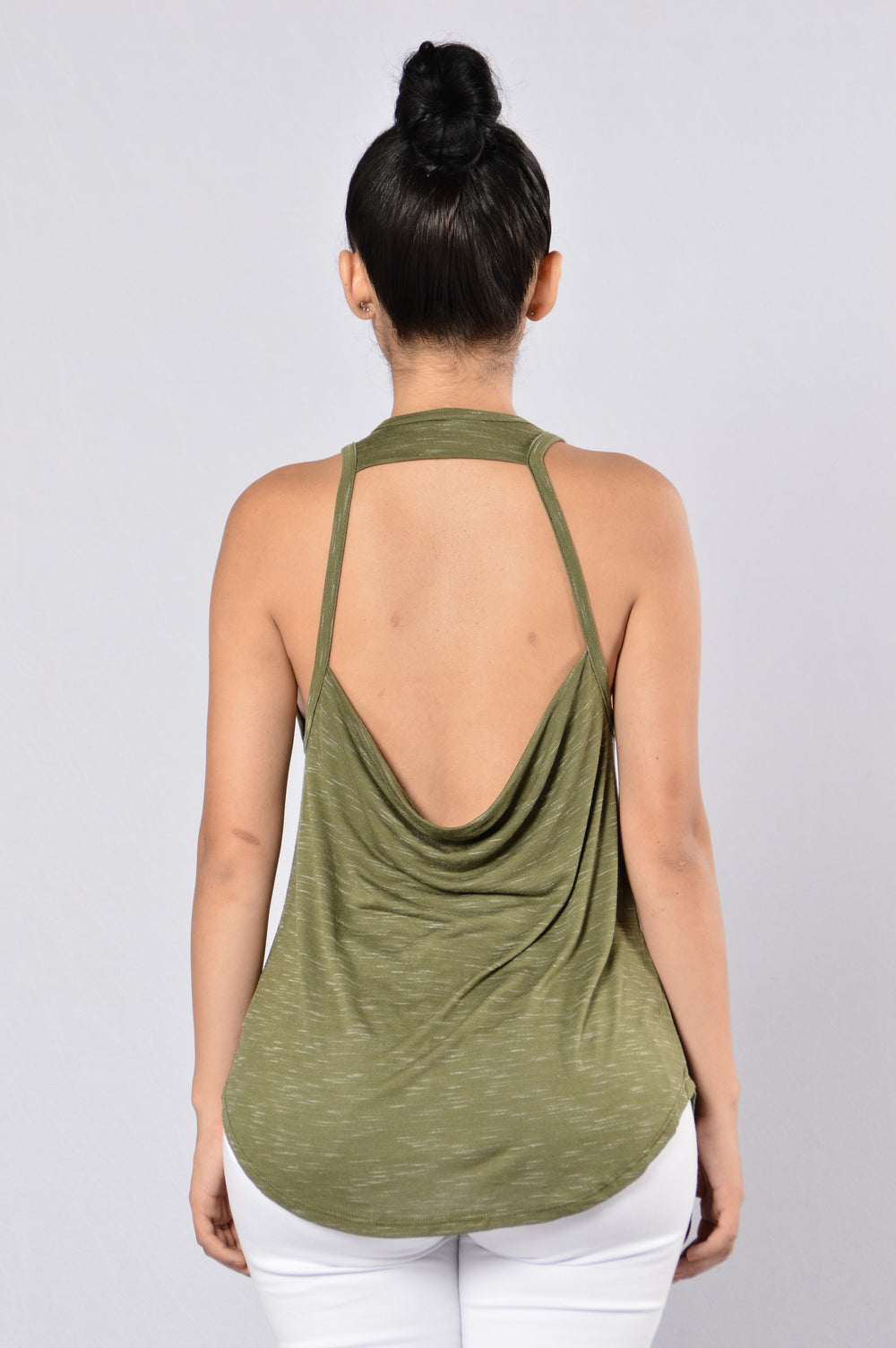 Roll With It Tank - Olive